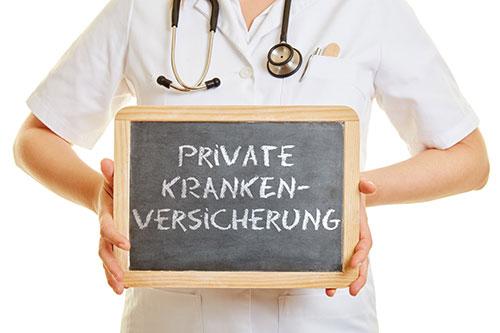 Arbeitnehmer PKV - Private Krankenversicherung