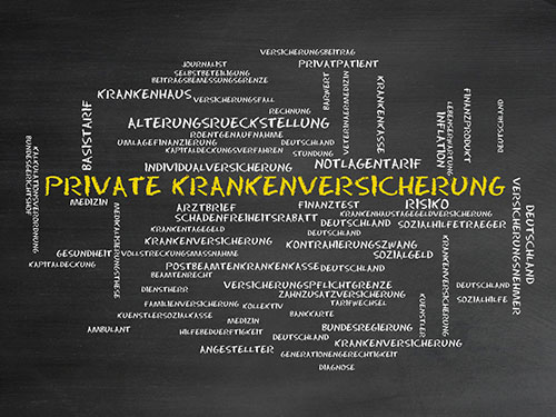 Private Krankenversicherung - PKV